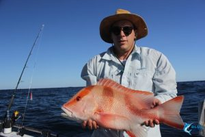 Red Emperor Sports fishing charter WA Australia Montebello Islands