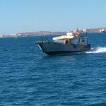 Global Venture Giant Trevally fishing charter Montebello Islands WA Blue lightning charters