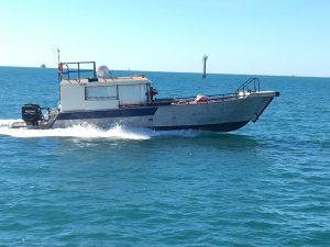 Global Venture Montebello Islands WA fishing charter new boat announcement blue lightning charters