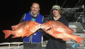 WA Red Emperor blue lightning fishing charters Montebello Islands