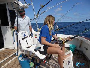 stripe marlin montebello islands wa fishing charter captain chad mills skipper