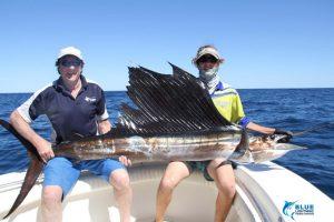 Sailfish Montebello Islands billfishing charter blue lightning fishing charters