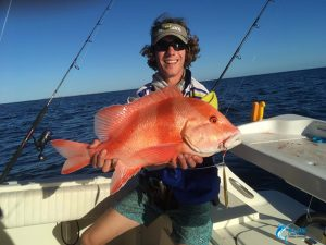 Red Emperor WA best fishing monte bello islands fishing charter blue lightning Compleat Angler Nedlands