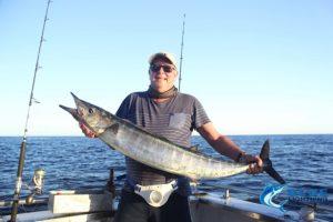 Blue Lightning Charters Wahoo fishing WA Montebello Islands