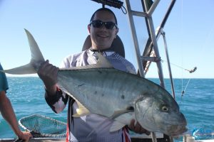 Giant Trevally Montebello Islands WA Australia Gt fishing