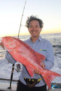 Chinaman jig fishing wa Montebello Islands blue lightining fishing charters