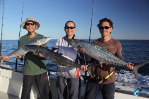 Spanish Mackerel Montebello Islands 5 day fishing charter blue lightning charters