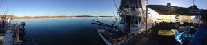 Blue Lightning charters pontoon Montebello Islands