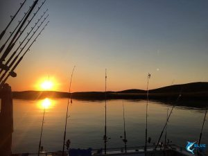 sunset montebello islands wa fishing charter blue lightning charters