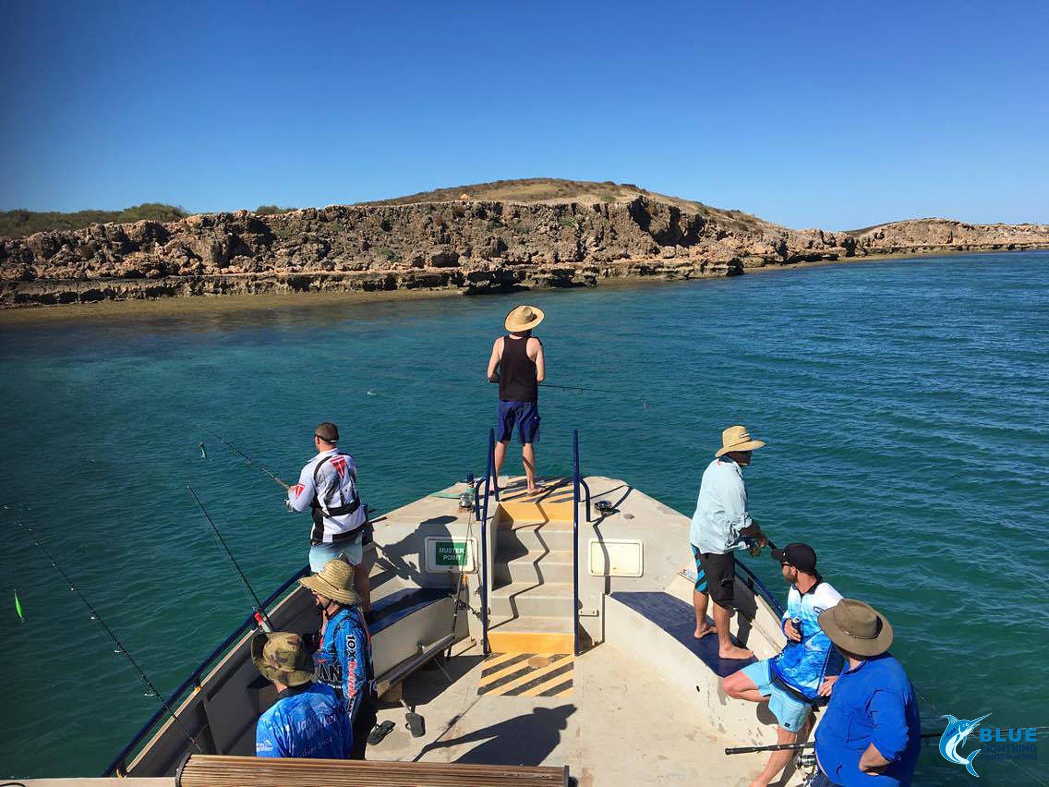 Global venture new boat blue lightning charters island for Wa fishing charters