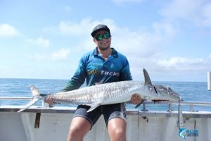 Spanish Mackerel Montebello Islands wa fishing blue lightning charters