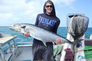 Spanish Mackerel Montebello Islands fishing blue lightning charters