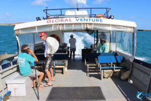 Global venture Montebello Islands WA fishing charter karratha
