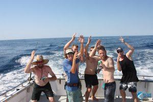 Marlin dance montebello Islands
