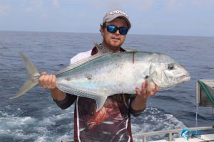 Trevally Montebello Islands Fishing charter best blue lightning charters