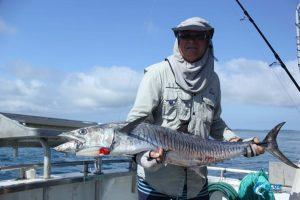 Spanish Mackerel Montebello Islands fishing charter blue lightning fishing charters