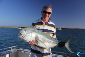 trevally fishing karratha wa montebello islands