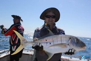 Golden Trevally Montebello Islands WA fishing charter