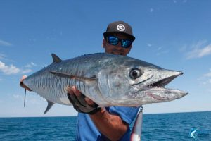 Spanish Mackerel Jason Taylor montebello islands fishing blue lightning charters