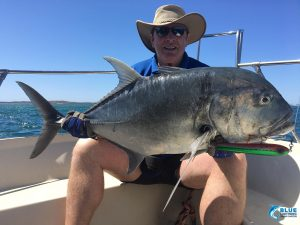 Giant Trevally GT Montebello Islands fishing charter blue lightning charters