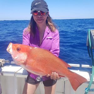 Montebello islands fishing charter female