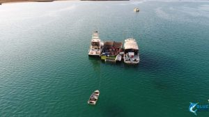 drone montebello islands fishing charters blue lightning charters chad mills