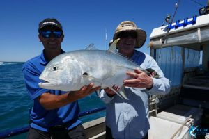 Trevally montebello islands wa fishing charter