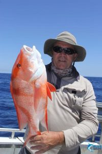 Red Emperor WA fishing charter chad mills