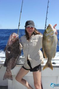 Rankin Cod Spangled Emperor montebello islands wa fishing charter ladies