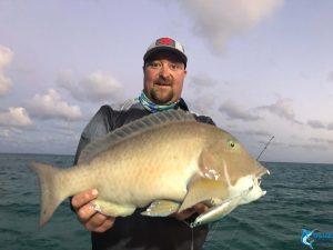 Anthony Baldchin Groper Blue Lightning WA fishing charters