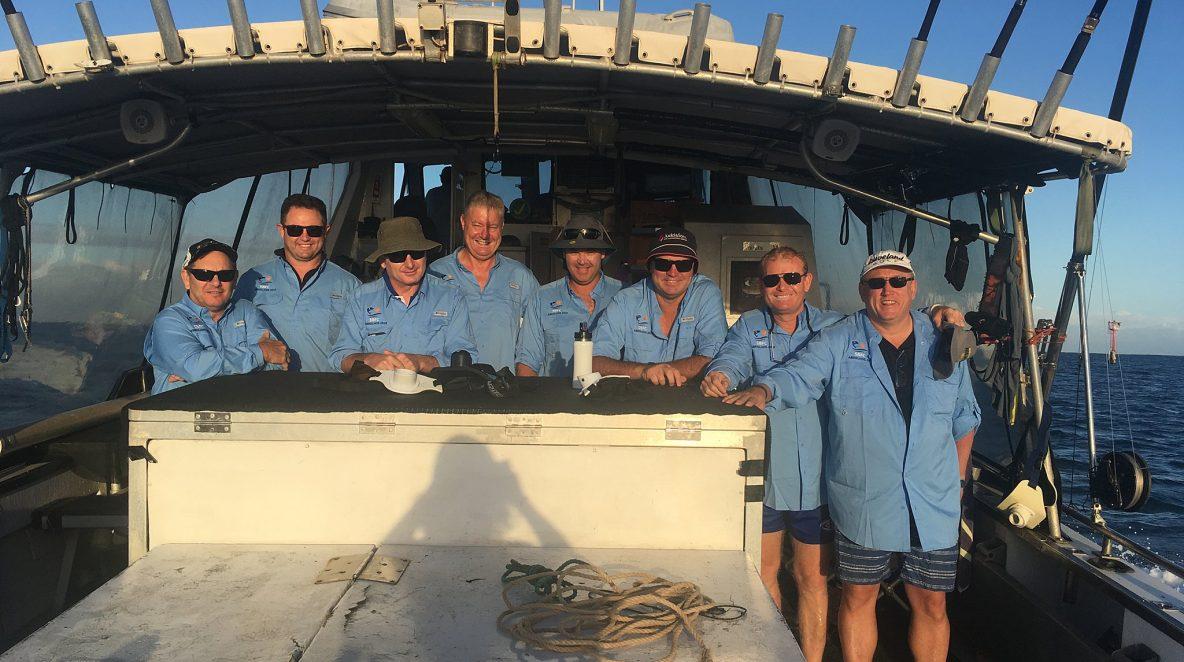 Blue Lightning Abrolhos Islands live aboard fishing charter
