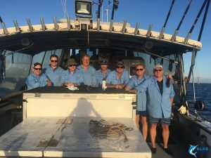 Blue Lightning Abrolhos Islands live aboard fishing charter
