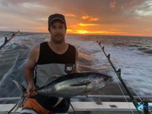 Tuna fishing charter WA Blue Lightning charters