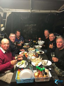 family dinner blue lightning charters abrolhos islands first time fishing wa