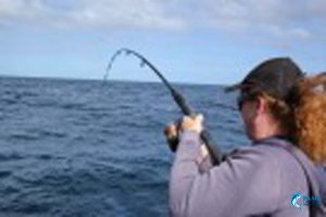 Abrolhos islands fishing women