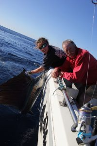 Garys 1st ever sailfish montebello islands