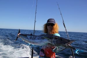 wa fishing 1st ever wahoo