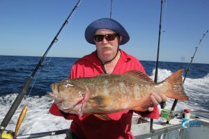 gary with personal best coral trout