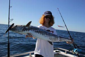 WA fishing spanish mackerel stickbait
