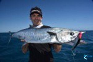 Spanish Mackeral Montebello Islands Fishing charter